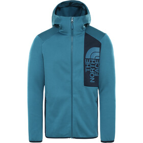 The North Face Merak Capuchon Jas Heren, mallard blue/urban navy